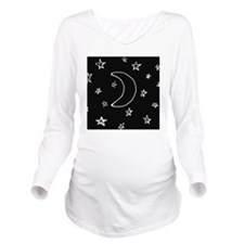 shower star night Long Sleeve Maternity T-Shirt