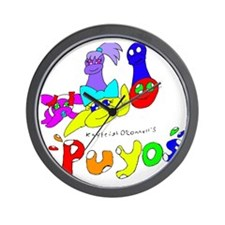 Puyos  Wall Clock