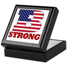 b strong(blk) Keepsake Box