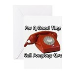 For A Good Time... Greeting Cards (Pk of 10)