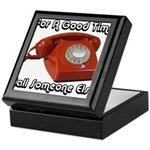 For A Good Time... Keepsake Box