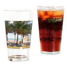 CRANDON BEACH Drinking Glass