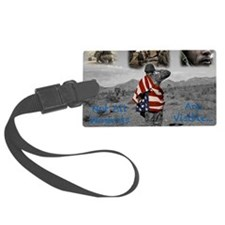 PTSD. Luggage Tag