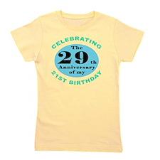 50th Birthday Humor Girl's Tee