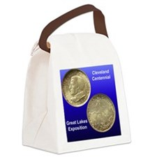Cleveland Centennial Half Dollar  Canvas Lunch Bag