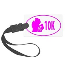 10K Pink Luggage Tag