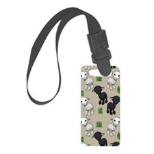 Lovable Lambs Small Luggage Tag