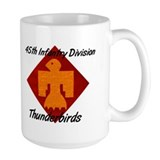 Mug w/ 158th Crest & Thunderbird