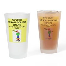 curling Drinking Glass