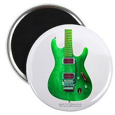 """""""Refl. Green"""" Guitar Magnet"""