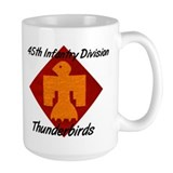 Mug w/ 180th Crest & Thunderbird