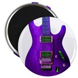 """Refl. Purple"" Guitar Magnet"