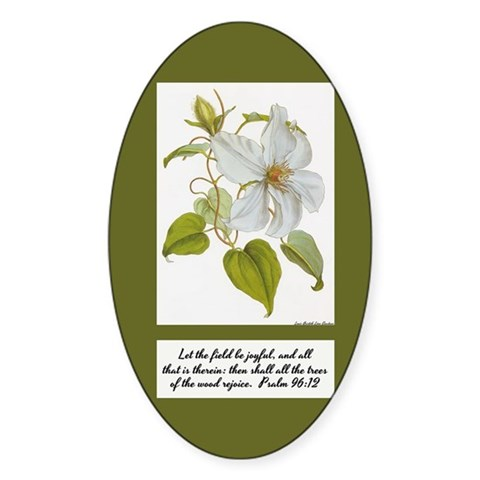 Constans Clematis Painting - I Decal