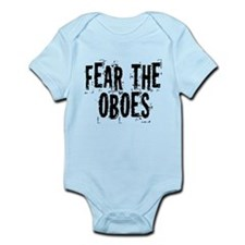Funny Oboe Fear Infant Bodysuit