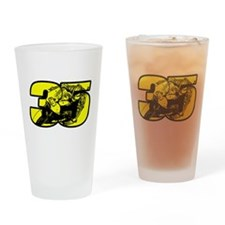 35ghost Drinking Glass