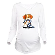 Let's Go! Brittany Long Sleeve Maternity T-Shirt