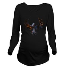 Bird of Prey Long Sleeve Maternity T-Shirt