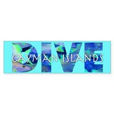 Dive Cayman Islands Bumper Bumper Sticker