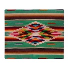 Southwest Weaving Throw Blanket