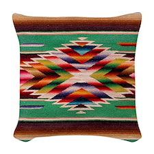 Southwest Weaving Woven Throw Pillow