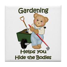 Garden Tips #2 Tile Coaster
