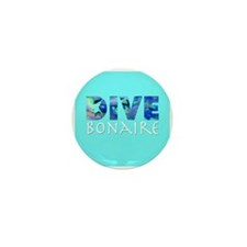 Dive Bonaire Mini Button (10 pack)
