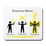 Elemental Magic - Thundaga Mousepad