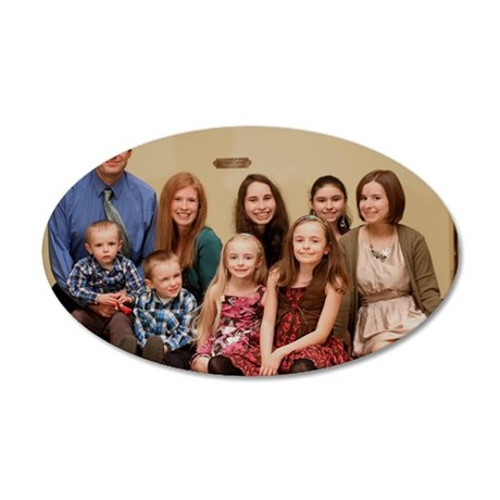 Fyfe Family 2010 35x21 Oval Wall Decal