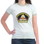 Sacramento County Sheriff Jr. Ringer T-Shirt