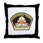 Sacramento County Sheriff Throw Pillow
