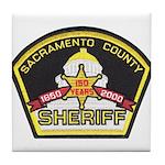 Sacramento County Sheriff Tile Coaster