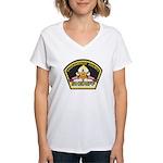 Sacramento County Sheriff Women's V-Neck T-Shirt