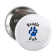 Beagle Dad Button
