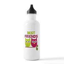 Best Friends Owls Water Bottle