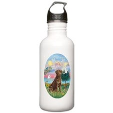 ORN-Oval-CloudAngel-Ch Water Bottle