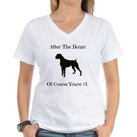 After The Boxer Women's V-Neck T-Shirt