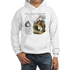 The White Rabbit Alice in Wonder Hoodie
