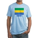 Gabon Flag Shirt