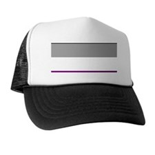 ASEXUAL PRIDE COLORS Trucker Hat