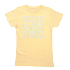 Beer Women And Rugby Girl's Tee