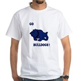 Go Bulldogs! White T-shirt