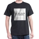 Diabetic Info Dark T-Shirt