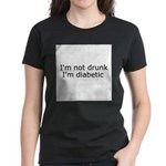 Diabetic Info Women's Dark T-Shirt