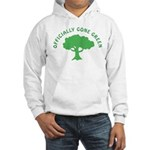 Earth Day : Officially Gone Green Hooded Sweatshir