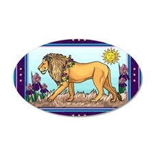 Spring Lion Trial Wall Decal