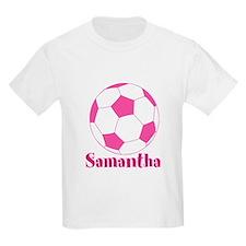 Pink Soccer Ball T-Shirt