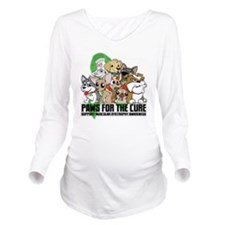 Muscular Dystrophy P Long Sleeve Maternity T-Shirt