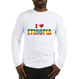 I love Ethiopia Long Sleeve T-Shirt