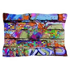 The Wow Abstract Wall Pillow Case