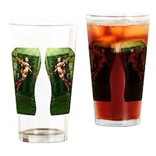 twtf_flip_flops Drinking Glass